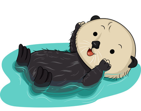 Sea Otter Water Float