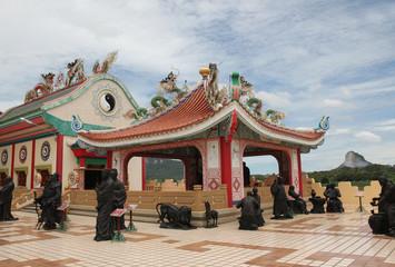 Chinese Temple Viharnra Sien in Pattaya
