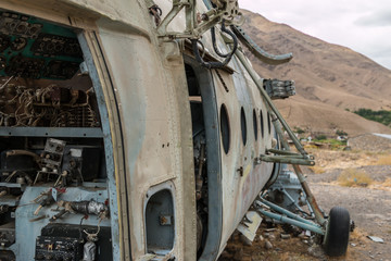 afghanistan soviet helicopter