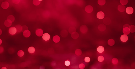 Red bokeh texture Christmas background