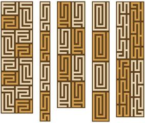 African design borders