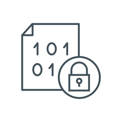 Security, data protection icon