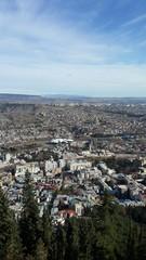 Tbilisi air view