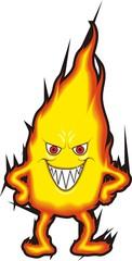 Улыбающийся огонь
