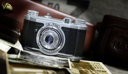 Alte Kamera Analog Fotografie