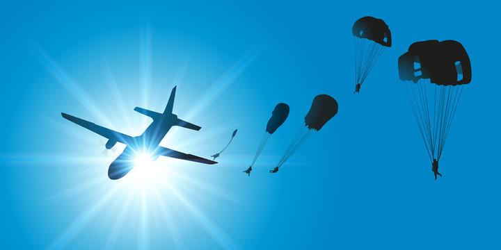 AVION Parachutistes