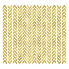 Gold chevron pattern