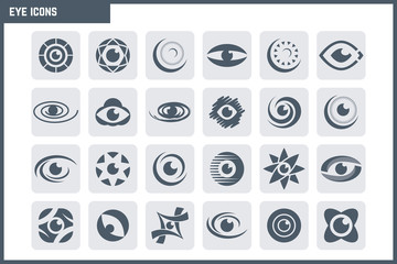 Vector Eye Icon Set