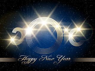 Happy New Year Festive Design