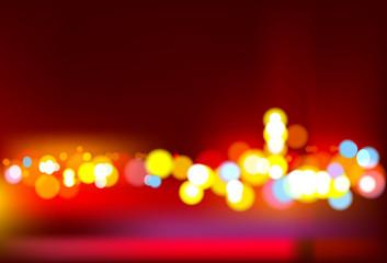 Urban Blurry lights