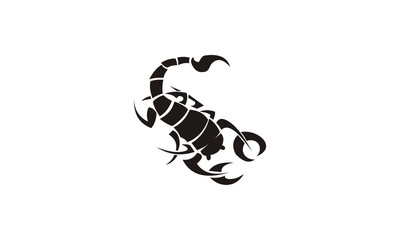 tribal scorpion design