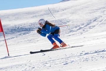 allenamento con gli sci