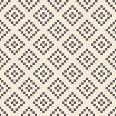 Pixel rhombus seamless pattern