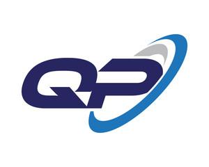 QP Swoosh Letter Logo