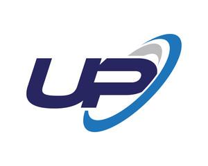 UP Swoosh Letter Logo