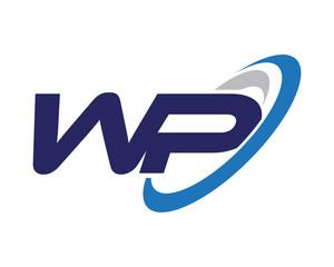 WP Swoosh Letter Logo