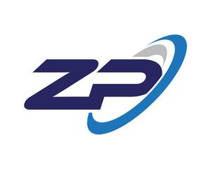 ZP Swoosh Letter Logo