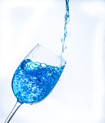 refresco azul