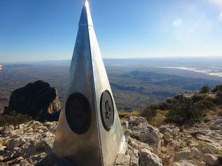 Pic de Guadalupe Mountains