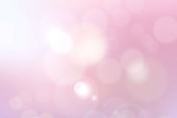 Romantic and wedding abstract illustration blur with bokeh background