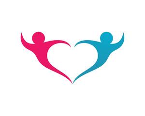 Adoption Care community Logo Template