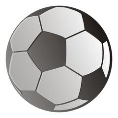 soccer ball, vector icon