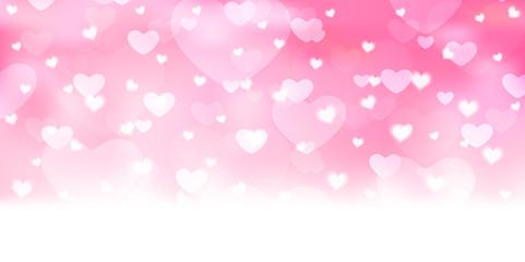 バレンタイン ハート ピンク 背景