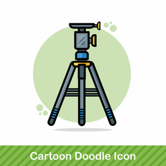 Camera tripods doodle