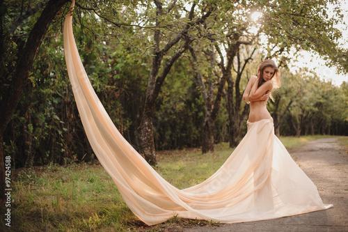 Topless long skirt
