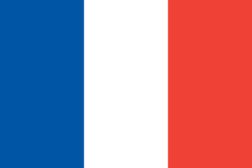 Flag of France Fotomurales