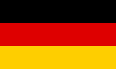 Flag of Germany Fototapete
