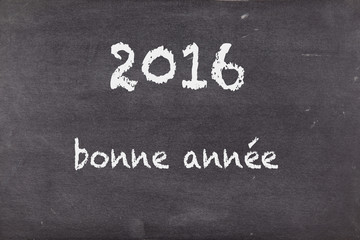 happy new year in french, 2016