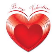 Herz - Happy Valentine - Valentinstag - Freisteller
