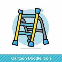 ladder color doodle