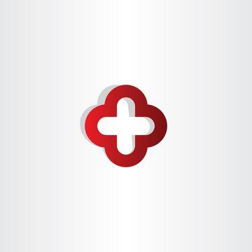 red cross plus logo sign