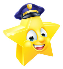 Star Police Emoji Emoticon