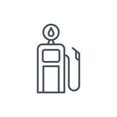 Gasoline station icon