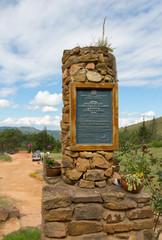 Entrance to El Fuerte de Samaipata (Fort Samaipata), Bolivia
