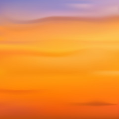 Blurred backgrounds vector. Sunset, sunrise wallpaper.
