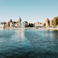 Gdańsk, widok od Motławy