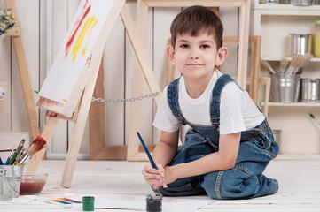 Boy-artist