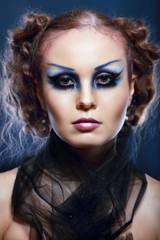 Creative Fashion Art make up