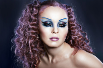 Creative Fashion Art make up