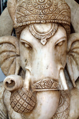 Stone Carving of the Indian God Ganeesh