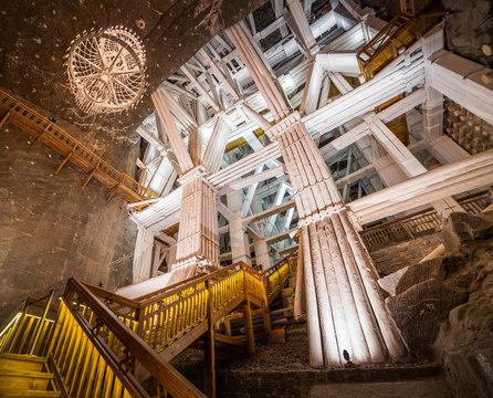 Wieliczka Salt Mine in Poland
