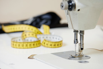 tailoring and sewing machine