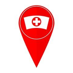 Map pointer nurse cap