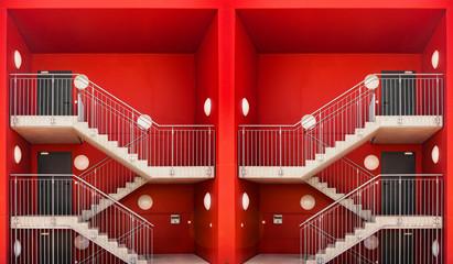 Treppenhaus Treppengeländer