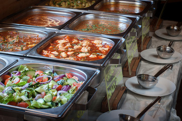 All  you can eat lunch buffet meal