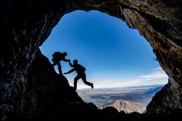 tırmanış desteği ve mağara araştırmacılığı